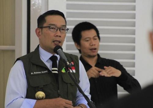Ridwan Kamil Umumkan 300 Orang Terindikasi Positif Corona Hasil Rapid Test