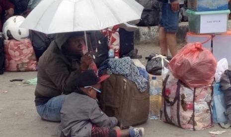 Mengungsi dari Wamena, 1.300 Perantau Sulsel Sudah di Jayapura, Sebagian Besar Kaum Ibu dan Anak-anak
