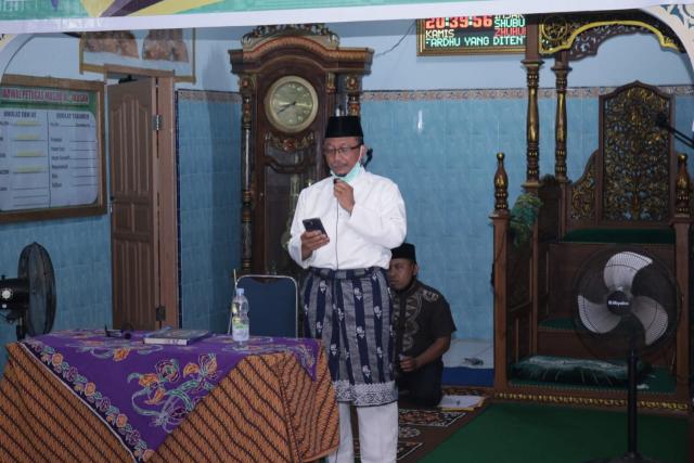 Remaja Masjid Teluk Jering Gelar Peringatan Maulid Nabi Muhammad SAW
