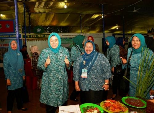 Kasmarni Amril Optimis Bengkalis Perkuat Riau di Jambore Kader PKK Nasional