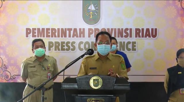 Selama Pandemi, 400 ASN dan THL Pemprov Riau Positif Covid-19, 8 Meninggal Dunia
