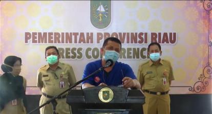 Tidak Bergejala, Istri Gubernur Riau Jalani Isolasi Mandiri di Rumah Dinas