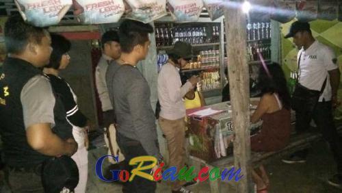 Polsek Minas Bongkar Prostitusi Terselubung di Jalan Lintas Pekanbaru-Minas