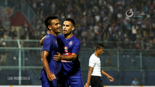 Pemain Arema FC Tak Lagi Jalani Program Latihan Online
