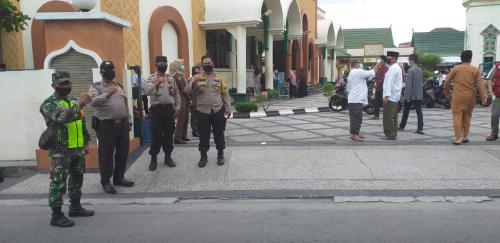 Polres Kepulauan Meranti Siagakan 96 Personel saat Pelaksanaan Shalat Idul Adha