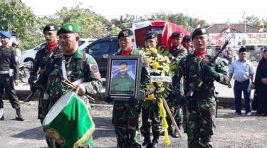 Gugur di Papua, Serda Rikson Dimakamkan di Makam Pahlawan Prabumulih