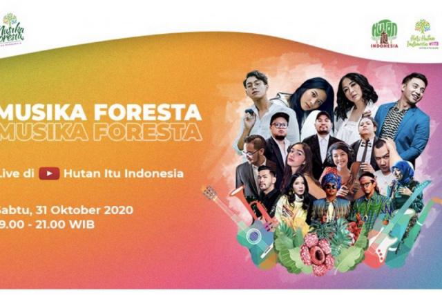 Musisi Indonesia Suarakan Cinta Hutan Lewat #DiRuangMaya