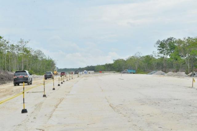 GoRiau Pembangunan ruas jalan tol ini