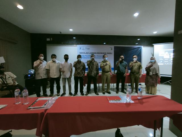 GoRiau Foto bersama panitia dengan pe