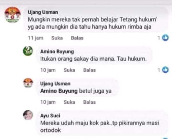 GoRiau Screenshot percakapan AS yang