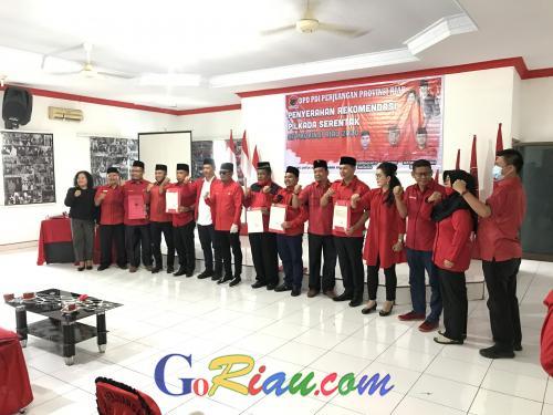 GoRiau Foto bersama Paslon Pilkada be
