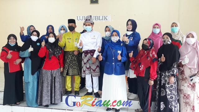 GoRiau Foto bersama Ketua DPD PAN Kab