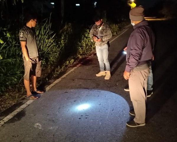 GoRiau Aparat kepolisian melakukan ol