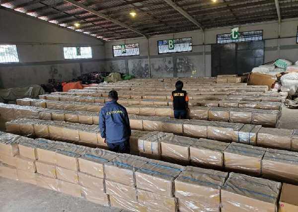 GoRiau Jutaan rokok ilegal yang berha