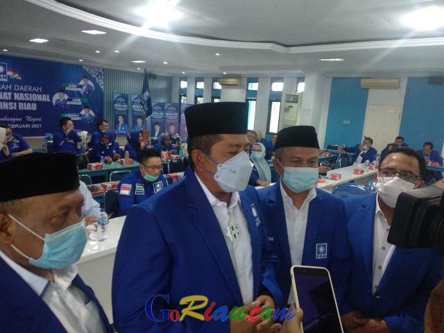 GoRiau Ketua DPW PAN Riau, Alfedri di