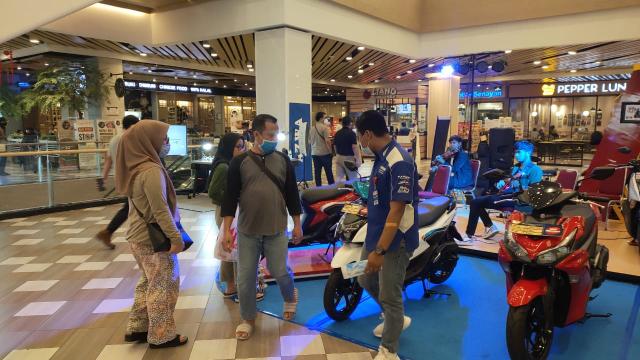 GoRiau Gear Exhibition Yamaha di Mall