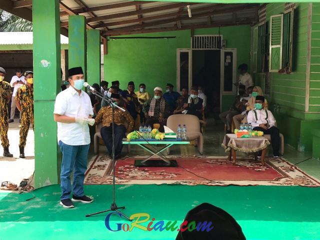 GoRiau Ketua DPD I Golkar Riau, Syams